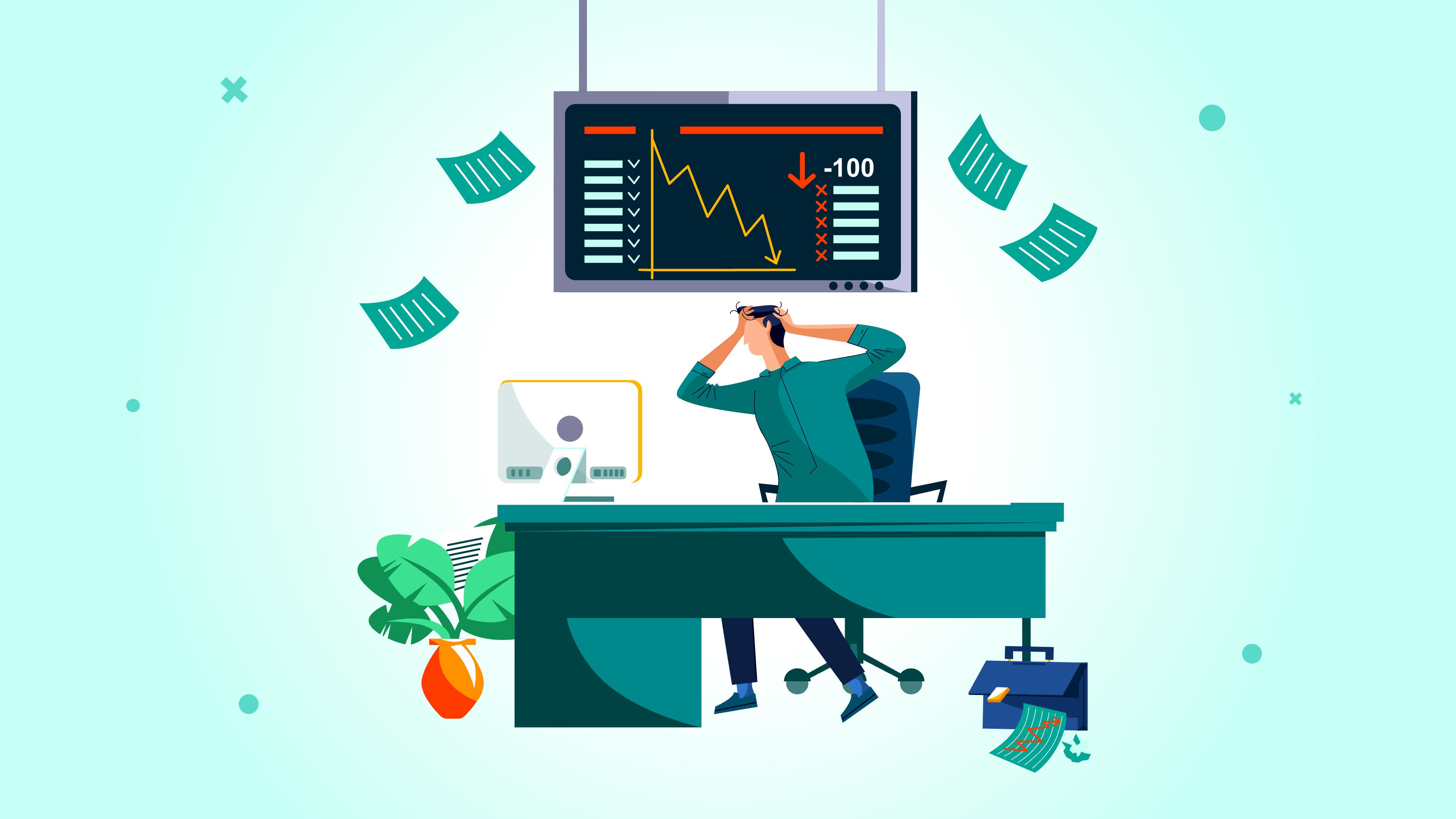 علت ریزش قیمت سهام در بازار بورس چیست؟